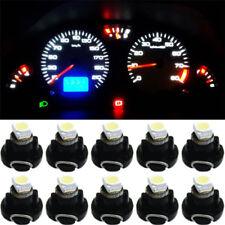 50Pcs Blue T3 1smd LED Car Instrument Cluster Panel Gauge Dashboard Bulb Light