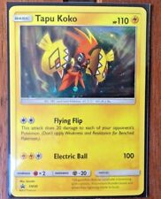 Pokemon Card    TAPU KOKO   Ultra Rare  SM30  SUN and MOON  PROMO ***MINT***