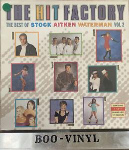 The Hit Factory Best Of Stock Aitken Waterman Vol 2 1988 Vinyl LP PWL HF4 Ex Con