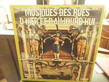 musiques des rues d'hier et d'aujourd'hui - double album carrere  67 221