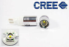 2x High Power 5W 6000k Pure White T15 W16W Cree Backup LED Light Projector Bulbs