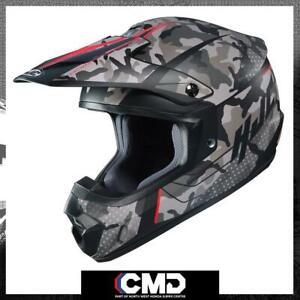 HJC CS-MX 2 Motocross Off-Road Bike Crash Helmet Sapir Red