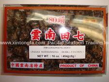 1 lb/ 454g  Notoginseng Root / Tian Qi / Pseudoginseng - Free Shipping!