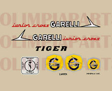 GARELLI JUNIOR CROSS TIGER  SERIE ADESIVI STICKERS
