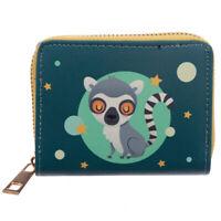 Small Zip Around Wallet - Lemur Mob Pocket Money Purse Holder