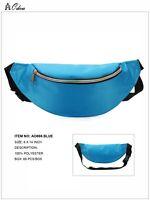 PVC Fanny Pack Solid Color Woman's Bag Water Resistant Belt Money Bag Trendy NWT
