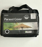 Gardman Standard Parasol Cover - Black 100% season protection