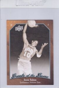 2009-10 Greats of the Game Dennis Rodman NOT MINT