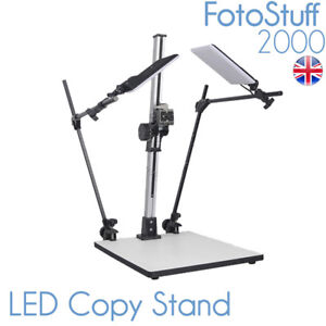 LED CS 720 LED Large Copy Stand Rostrum with Lights 72 CM Max Height CS-720-LED