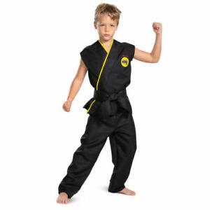Cobra Kai Halloween Costume Karate Kid Child Unisex 8 9 10 Medium 2021