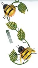 Metal Wall Climbing Bees Ideal for Garden or Home by Fountasia