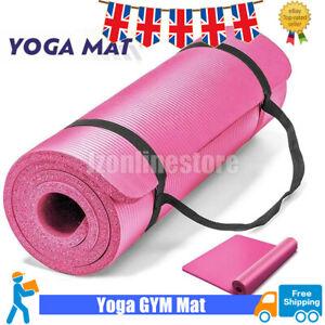 Yoga Mat 15MM Fitness Pilates Extra Thick Exercise Mat Non-Slip Fitness Pilates