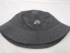 NWT Men's Nike SB French Terry Bucket Hat [CQ9281-032] Heather Grey Size L/XL