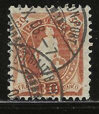 Classic SWITZERLAND...#121a (Perf 11 1/2 x 11)...Used...1907...SCV $475.00