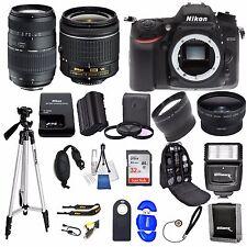 Nikon D7200DSLR Camera w/ VR 18-55mm + 70-300+ 32GB VALUE BUNDLE * Brand New*