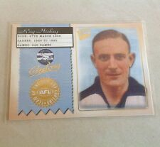 2004 CONQUEST TEAM OF THE CENTURY CAPTAIN GEELONG CATS TCC5 REG HICKEY CARD