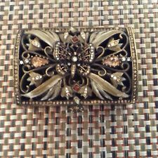 Jay Strongwater Butterfly Hinged Trinket Box