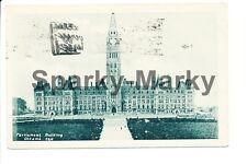 Parliament Building Ottawa Canada Vintage Postcard C01