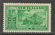 New Zealand #218 (A73) VF MINT LH - 1936 1/2p Wood Industry
