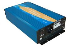 Convertisseur pur sinus 24V/220V 1500W avec chargeur