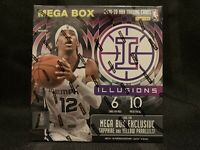 2019-2020 Panini Illusions Mega Box *FREE SHIPPING* Zion Morant Basketball Cards
