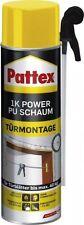 500ml Pattex 1K Power PU Schaum zur Türmontage Bauschaum Montageschaum PU50M