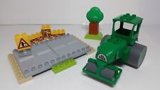 Roley's Road Set 3295 Lego DUPLO Bob Builder Construction Street Plates Roller