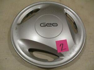"""1995-1997 Geo Metro 13"""" Hubcap OEM Hollander # 3218 #2"""