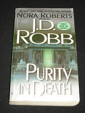 msm NORA ROBERTS as J.D. ROBB ~ PURITY IN DEATH