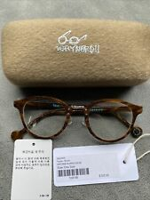 Vernyard Yucca Brown Spectacles Glasses Frames With Case BNWT RRP £175