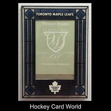 (HCW) Toronto Maple Leafs Vertical 4x6 NHL Art-Glass Picture Frame - New in Box
