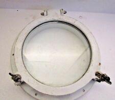 "LARGE - VINTAGE Marine PORT HOLE / Window -  9"" Glass - 100% ORIGINAL(665)"