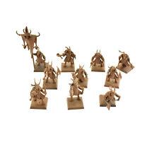 BEASTMEN 10 gors #4 Warhammer Fantasy herd Gor