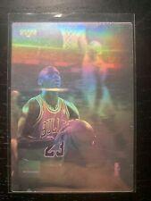 1991-1992 NBA MVP Upper Deck Michael Jordan Mcdonalds Hologram RARE