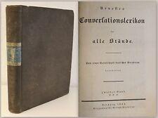 estes Conversationslexikon para todos Hangares 1833 - 2. Banda, C hasta E - xz