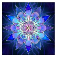 Glowing Flower 5D Full Drill Diamond Painting Embroidery Cross Stitch Kits DIY