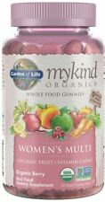 mykind Organics Womens Multi Gummies by Garden of Life, 120 count