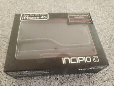 Incipio Leather Holster Black IPhone 4S NEW
