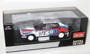 1/18 Martini Lancia Delta HF 16v Integrale 1st Rally 1000 Lakes 1991 J.Kankkunen