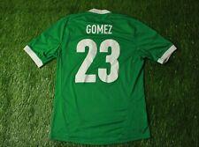 GERMANY TEAM # 23 GOMEZ 2012/2013 FOOTBALL SHIRT JERSEY AWAY ADIDAS ORIGINAL