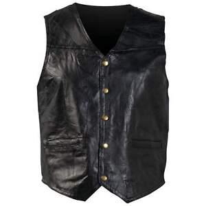 Giovanni Navarre® Italian Stone™ Design Genuine Leather Vest 4X-7X