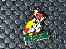 PINS PIN BADGE SPORT RUGBY CLUB SOCIETE GENERALE