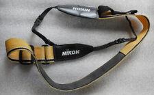 NIKON yellow and black strap used
