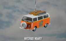 1969 Volkswagen Van Bus Custom Ornament VW Samba T2 Surfer Surf Kombi Bay Window