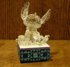 "Jim Shore Disney #4059928 STITCH ILLUMINATED, NEW/Box From Retail Store 4"""