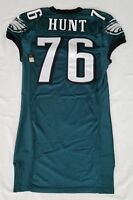 #76 Phillip Hunt of Philadelphia Eagles NFL Locker Room Game Issued Jersey