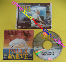 CD SOUNDTRACK Carlo Siliotto Palla Di Neve COS 700-030 no lp mc dvd vhs(OST3)