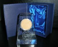2008 New York Mets Shea Stadium Game Used Dirt Crystal From Final Game! MLB Worn