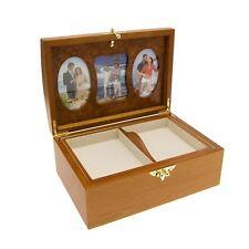 Mele & Co Acabado en Roble & caja de foto de memoria especiales