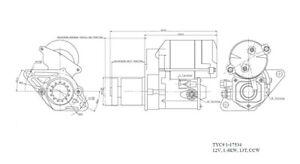 New Starter  TYC  1-17534